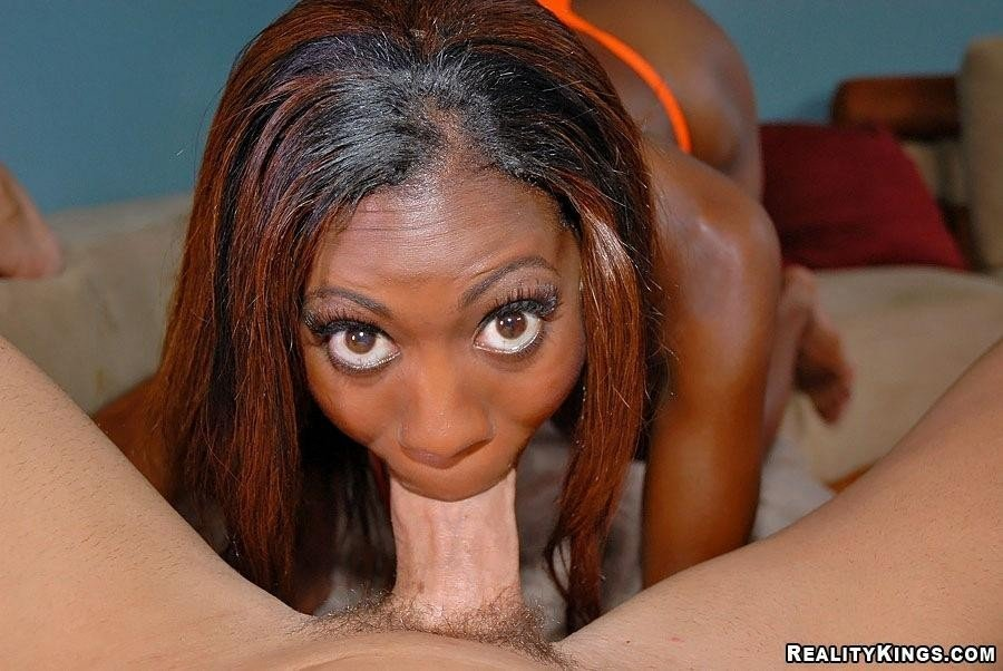 Black chicks love white cock