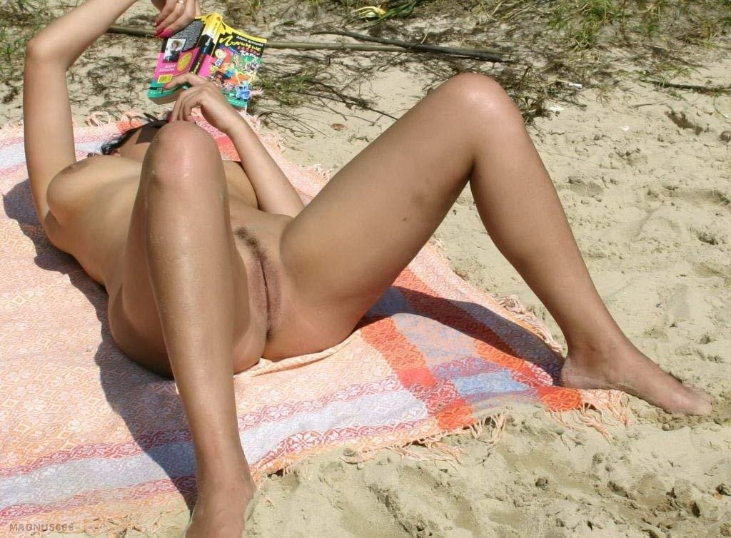 Mature porn on the beach #1