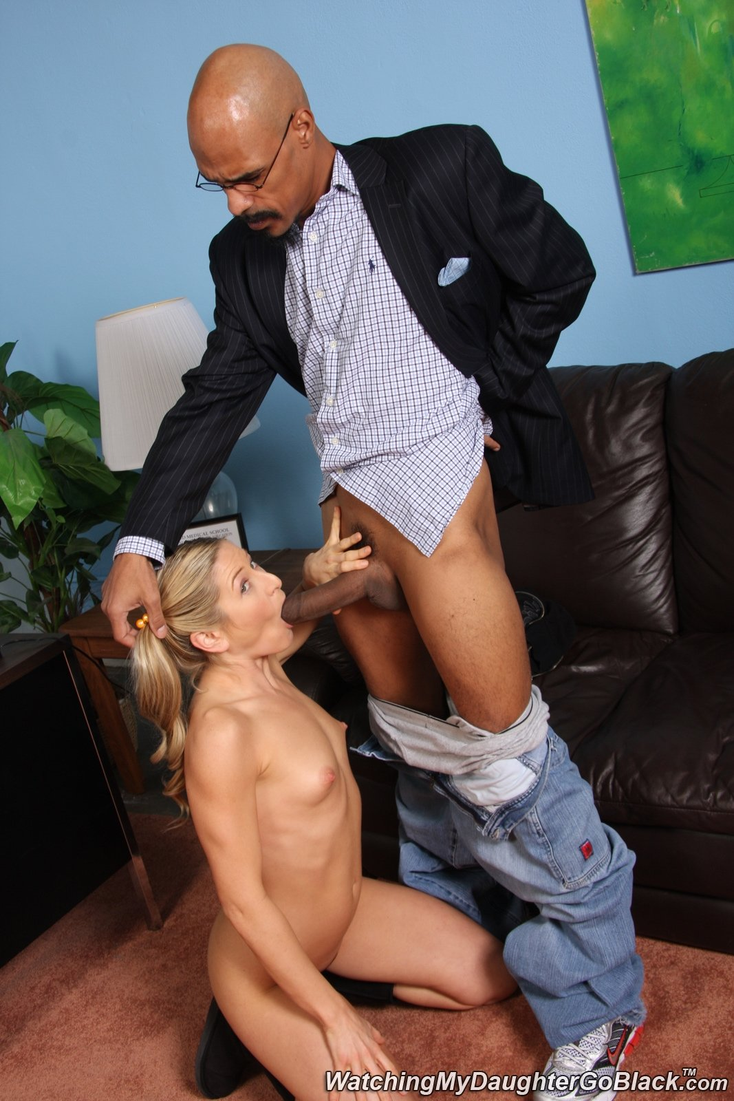 Office blackmailed spanked forced roger
