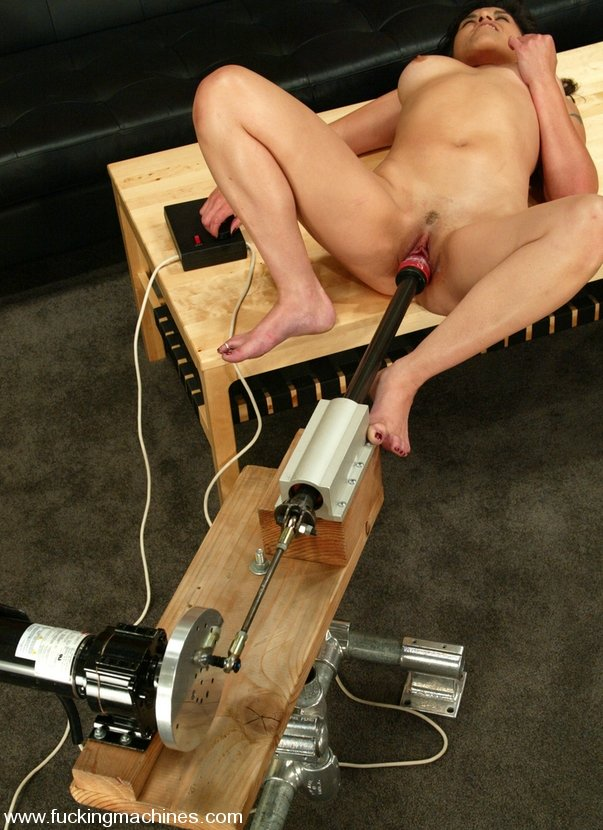Granny on sybian sex machine