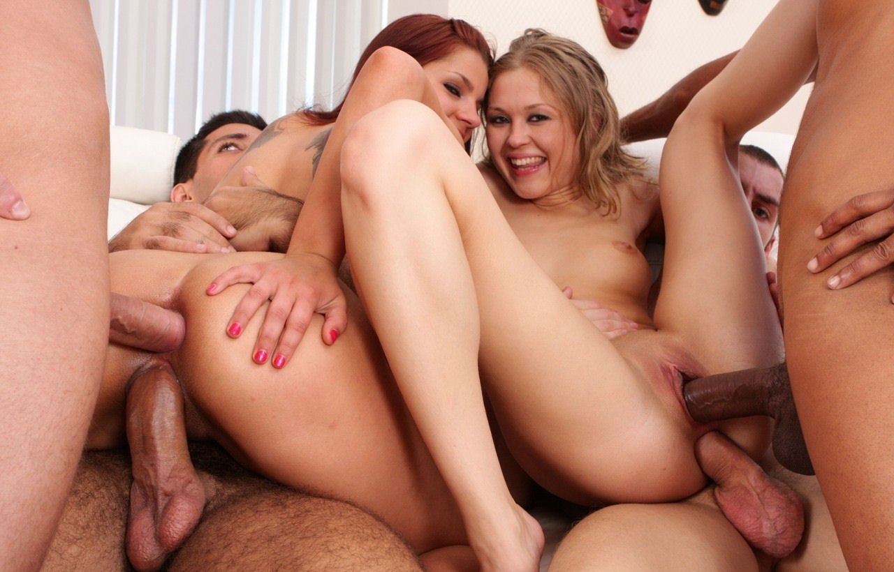 Her First Threesome And Double Penetration Porn Pics
