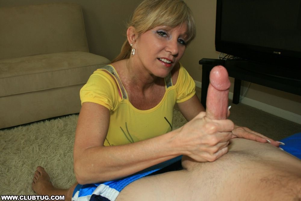 Sucking daddy's cock under table in front of mom cali sparks pov