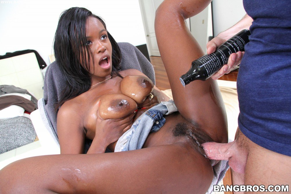 Ebony big dick tube