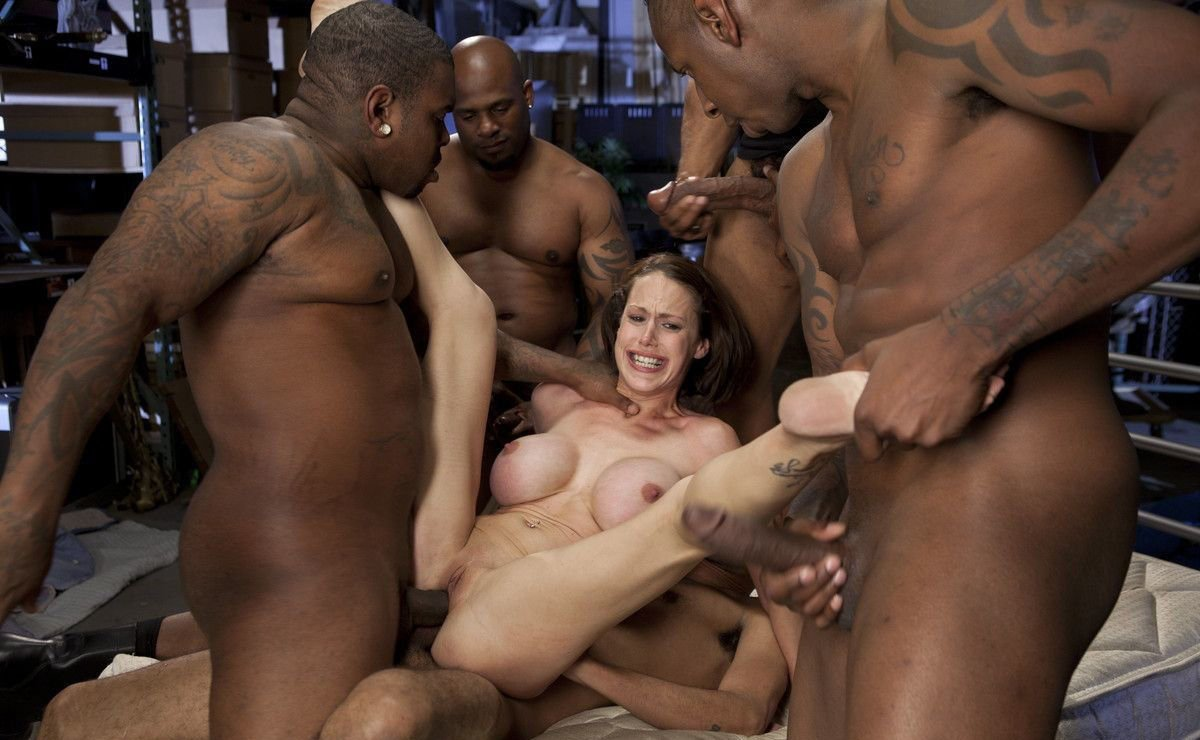 Gangbang Big Black Cock Photo Gallery