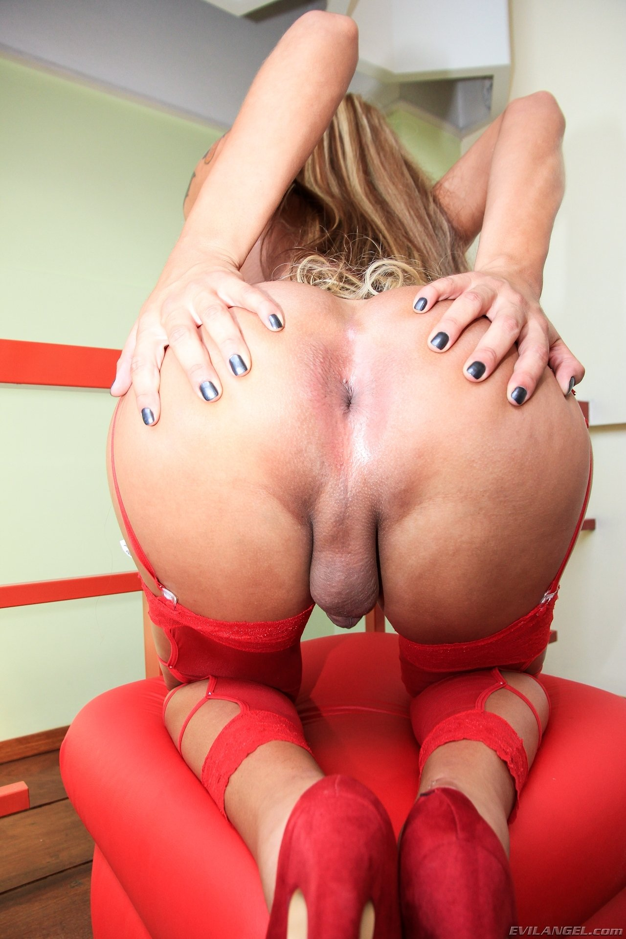 Shemale tight ass