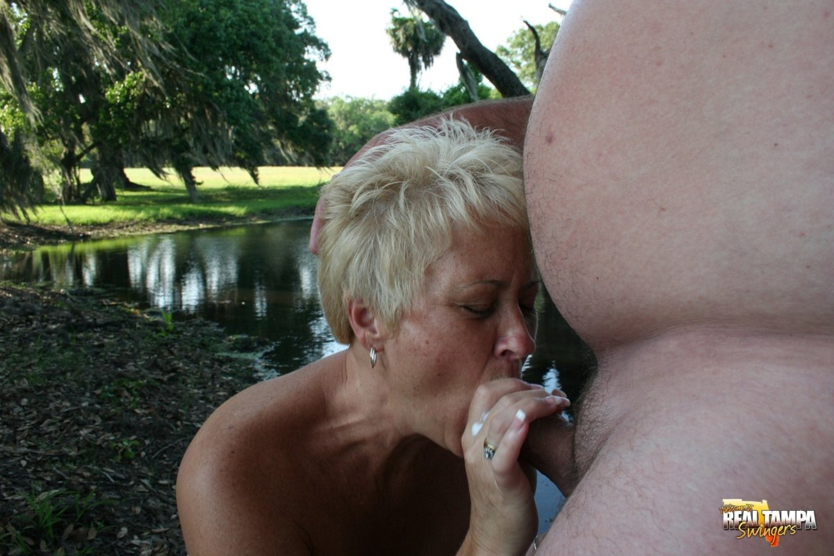 image Short hair outdoor blowjob first time tall