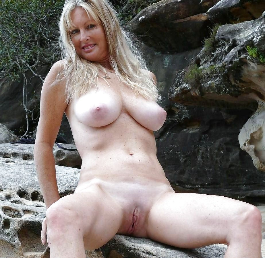 best of Horny MILF gets fucked hard outdoor