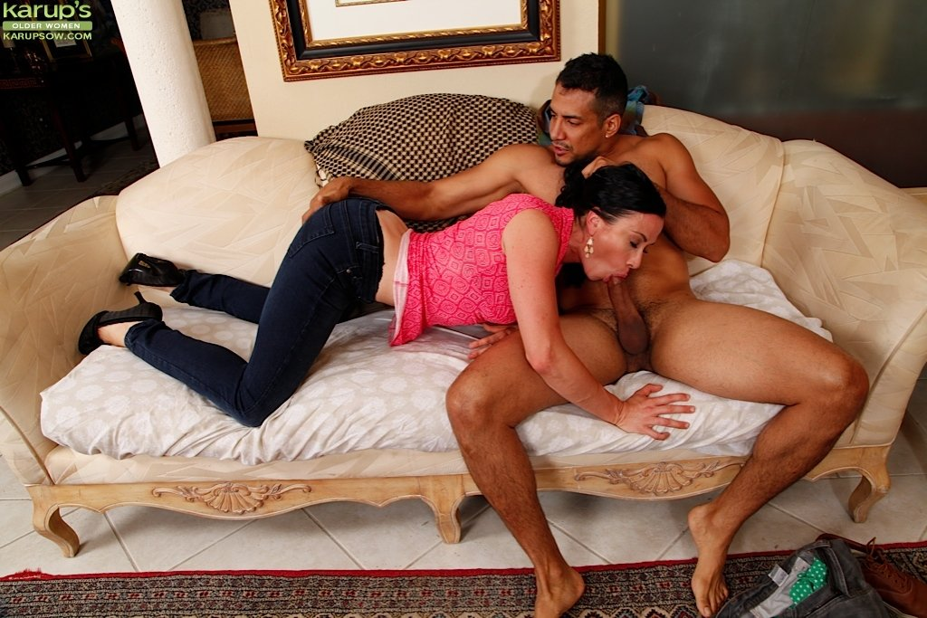 Shy wife fucked in front husband