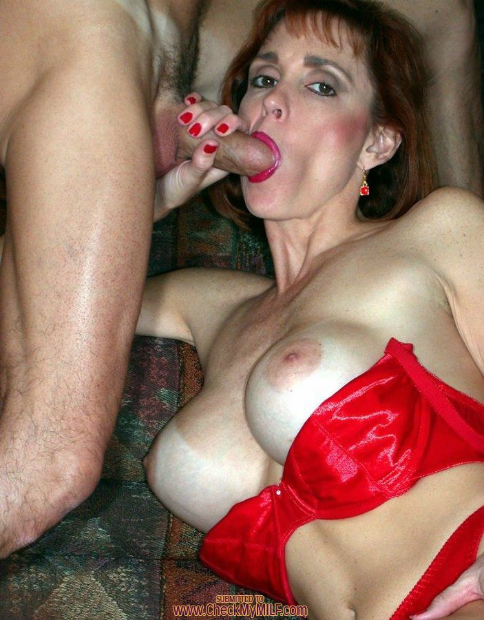 Mature dp wife swallow