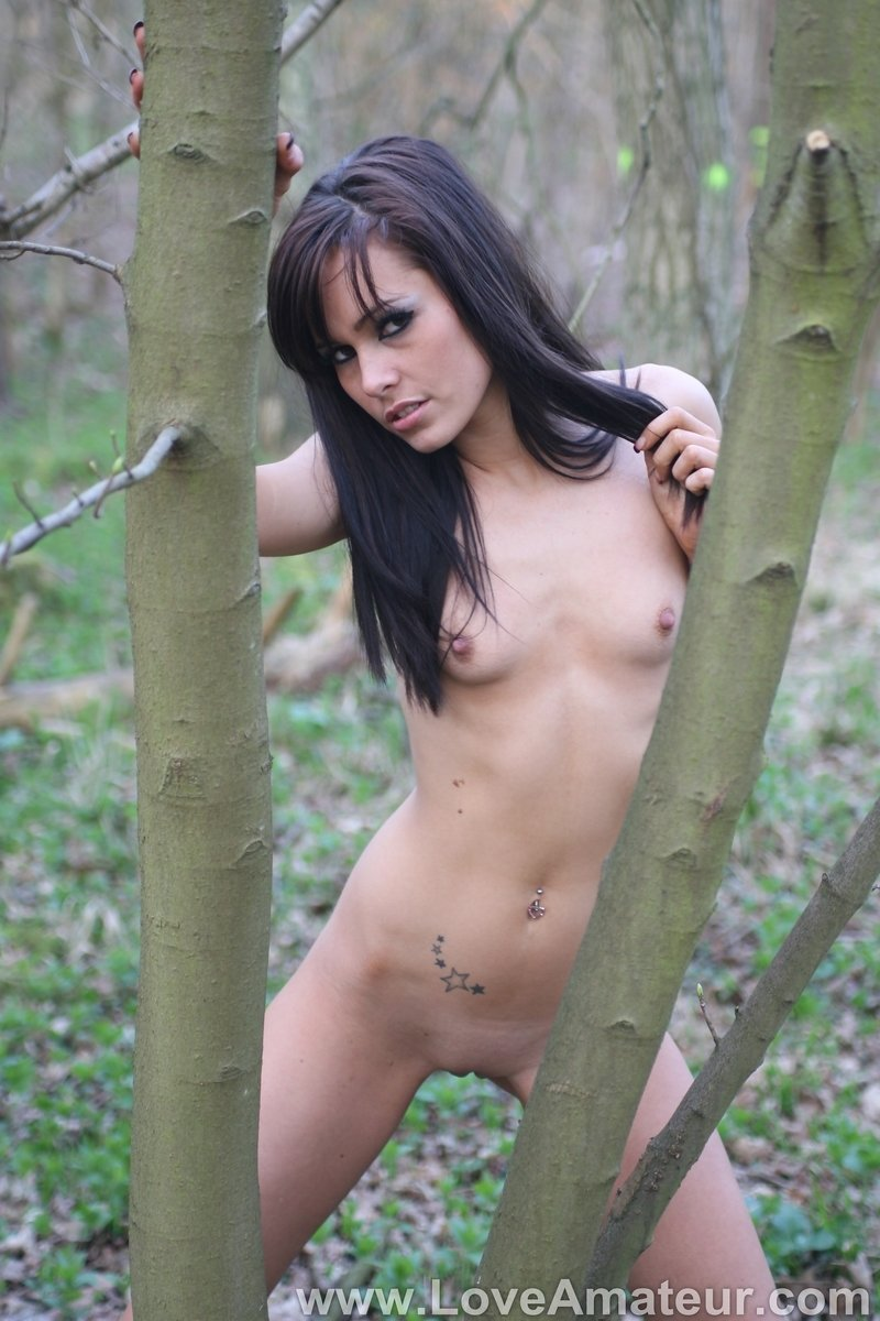 My wife loves to be naked outdoors