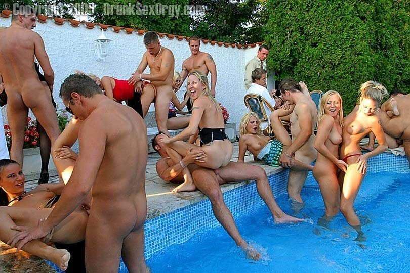 swimming pool orgy very big dick fuck