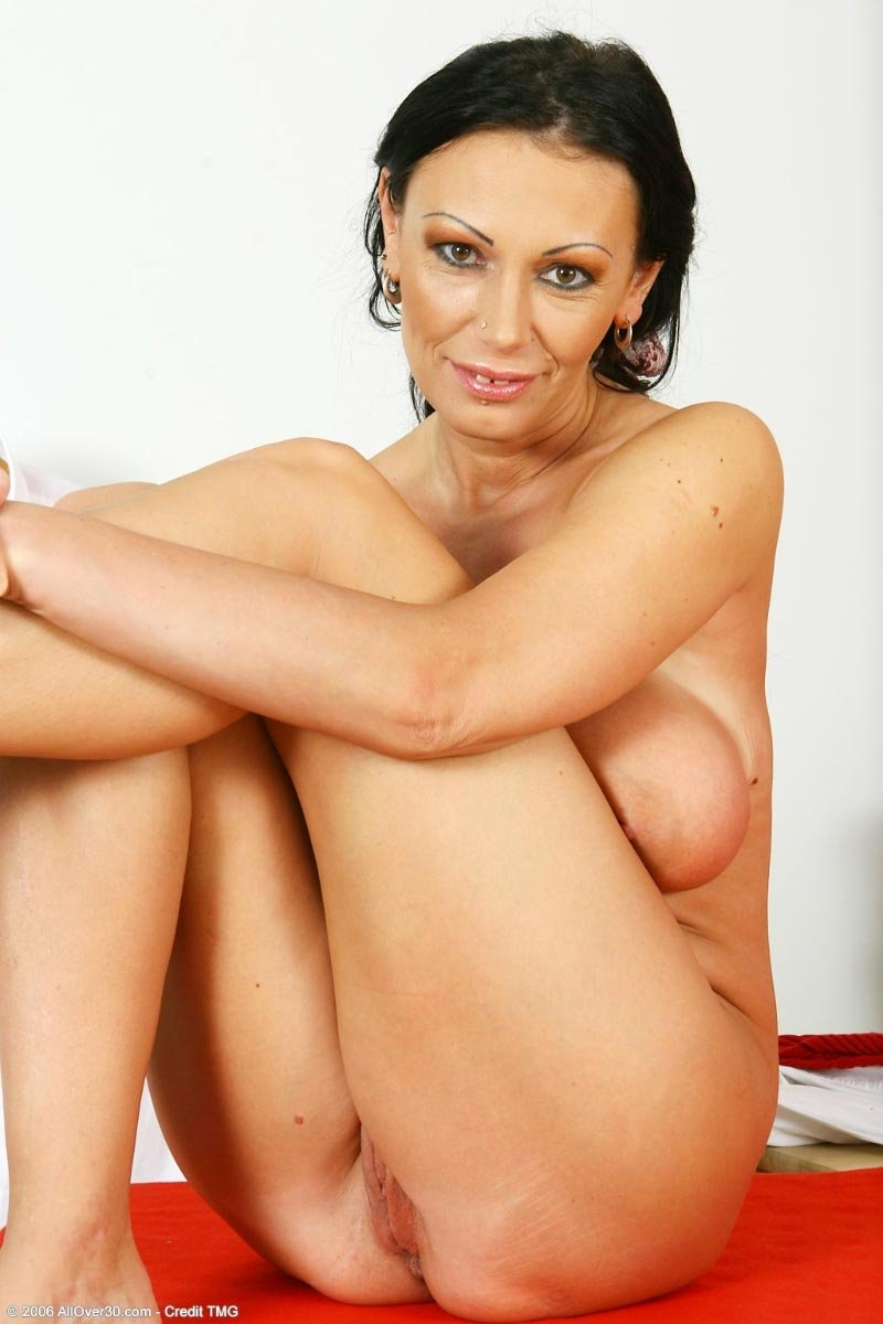 hot black haired milf