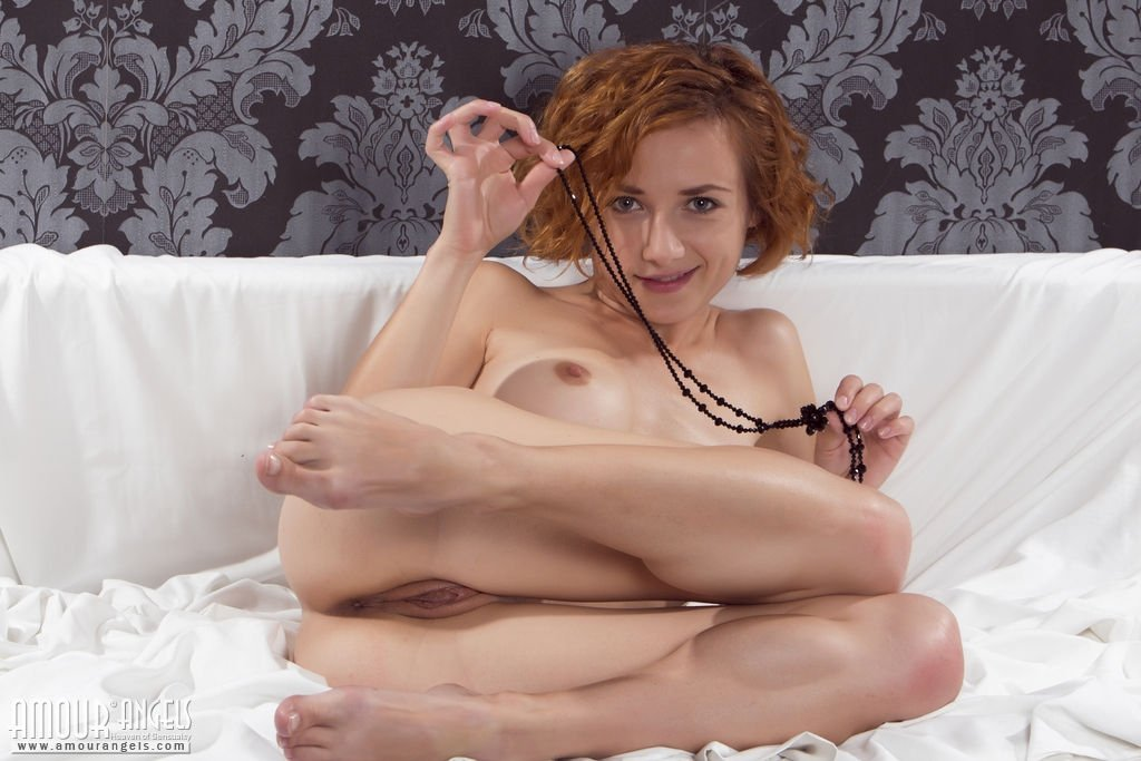 Athletic young beauty gives BJ upside down before pounding add photo
