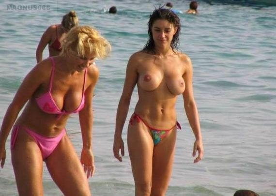 Nude beach sex party #8
