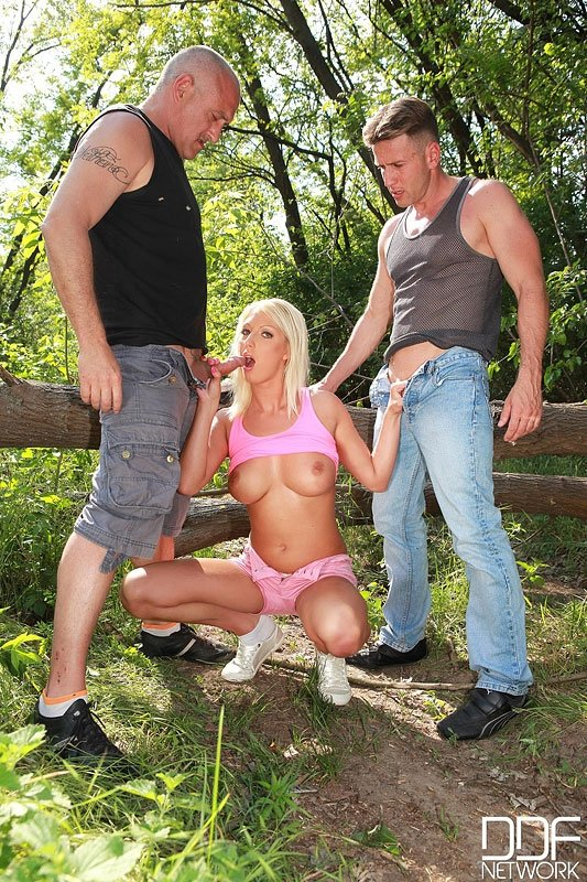submissive wife threesome