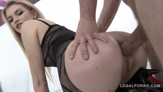 KINKY INLAWS - #Alex Ginger #Alex Black - Czech Stepdaughter And Stepmom Anal Threesome With A Big Cock