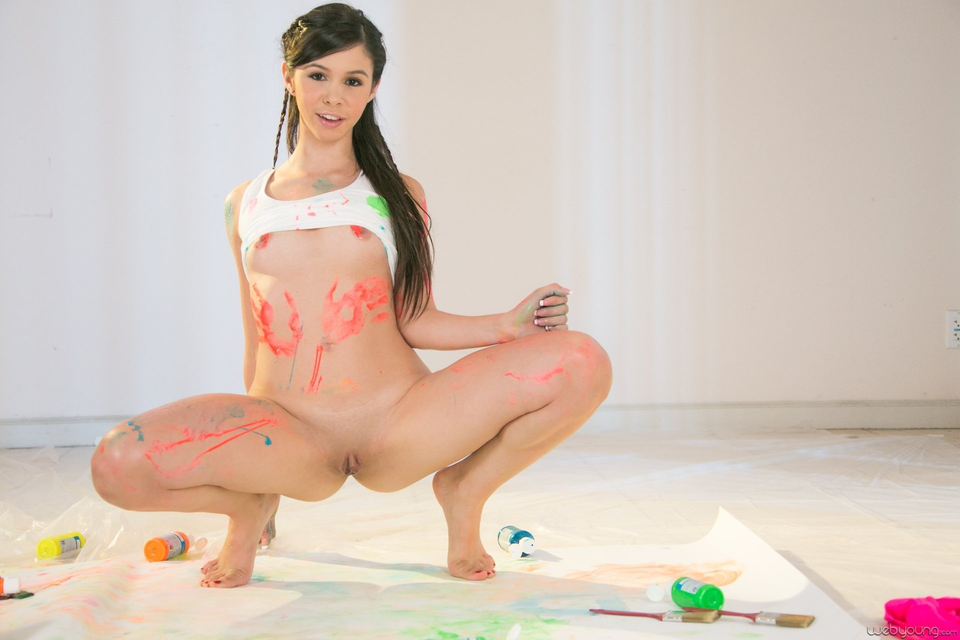 Sonclothed and nudist chubby teen amature porn