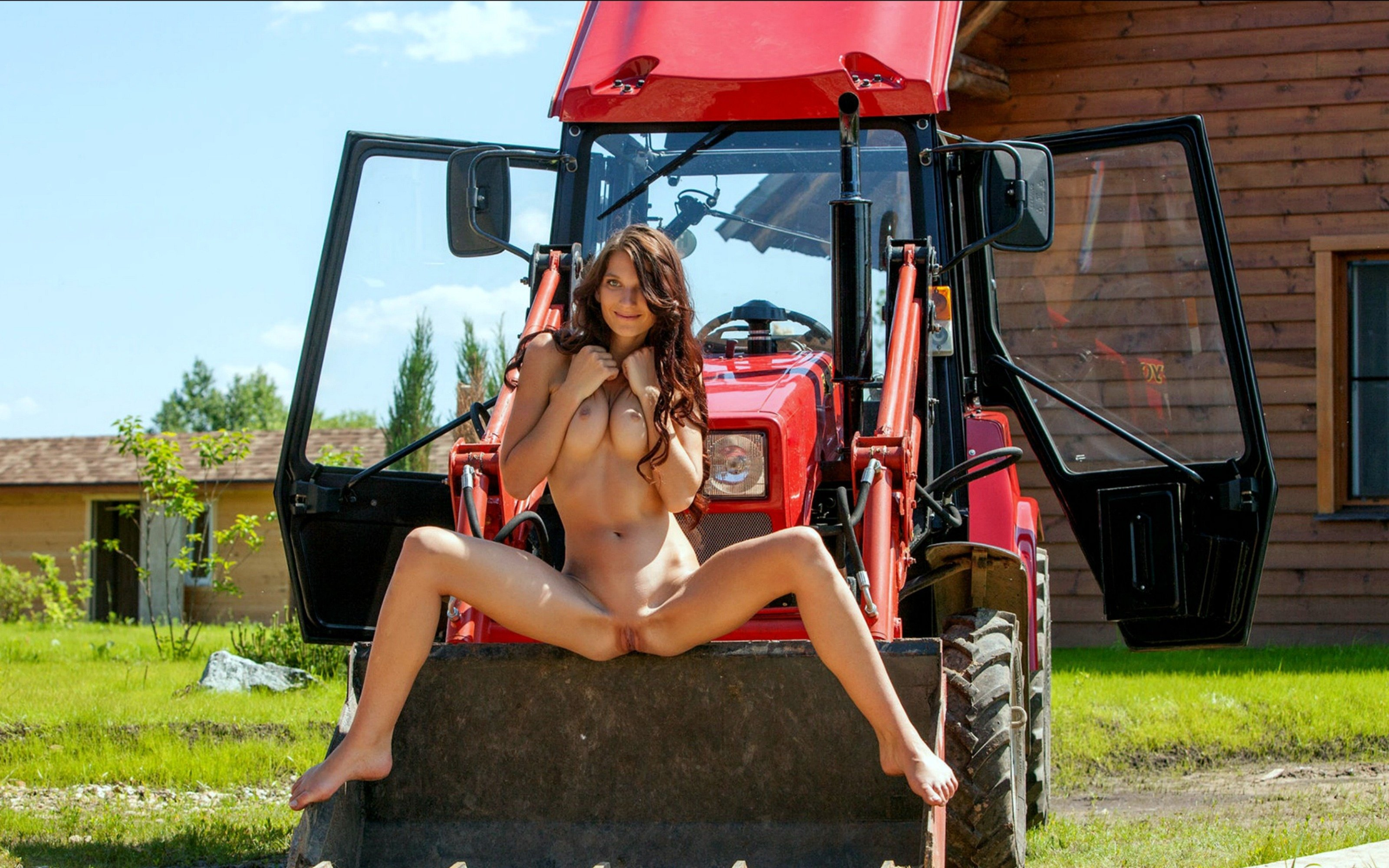 horny-wet-girl-masrerbates-on-tractor