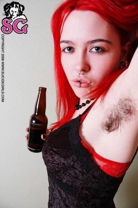 Suicide girls hairy armpits agree