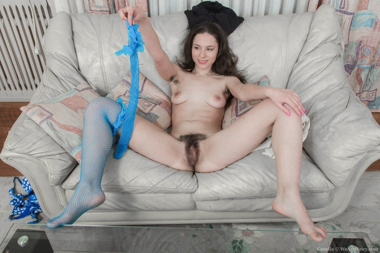 wife tries huge dildo