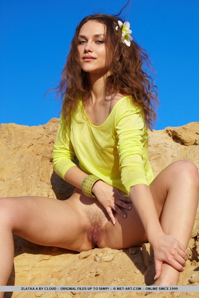 petite teen outdoor there