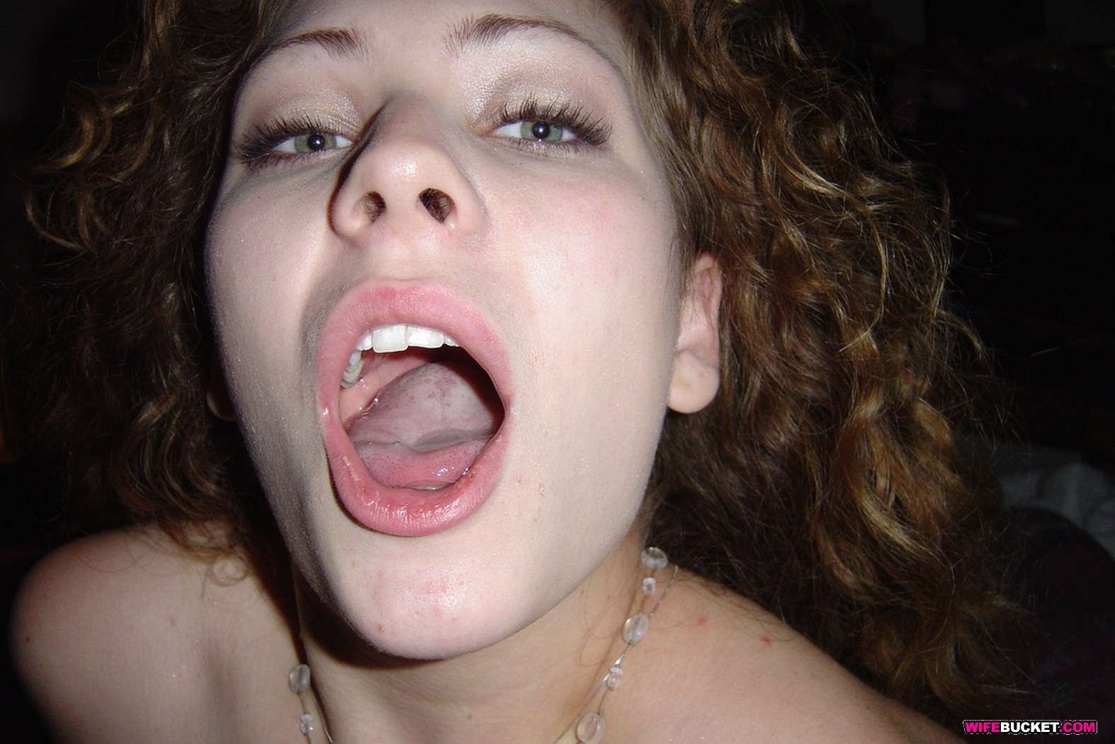 wild nipple sucking