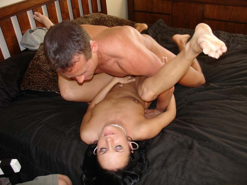Cuckold husband eats bbc cream pie