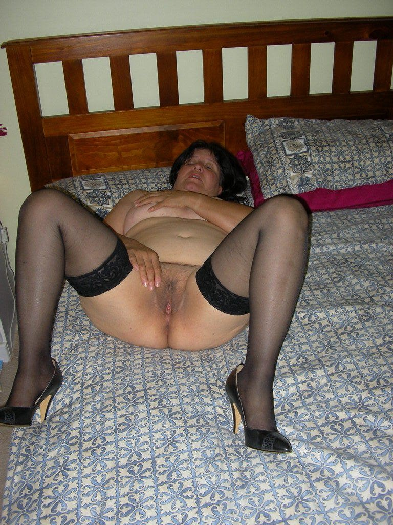 mature in thigh high boots add photo