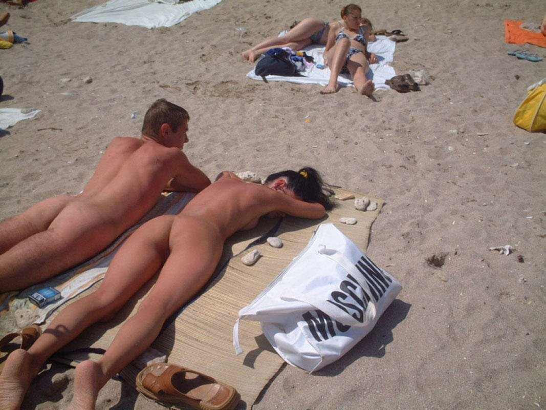 very hot beach sex
