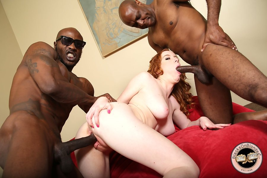 double penetration black white there