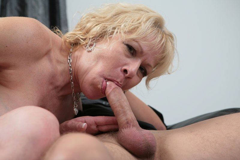 Caught milf home alone