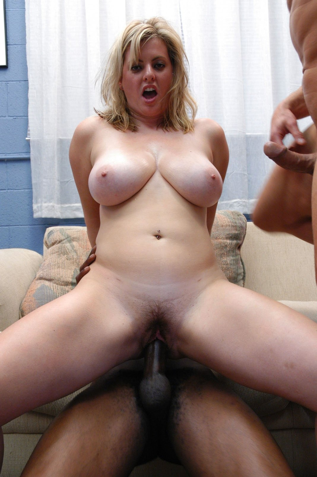 first time interracial creampie