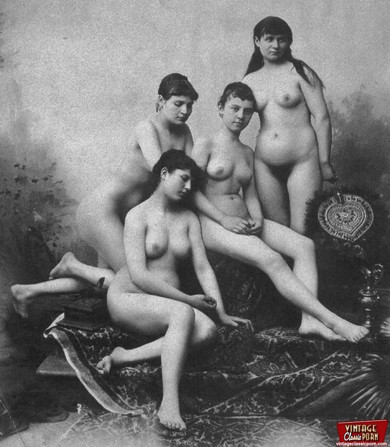 Old time saloon girls nude — img 4
