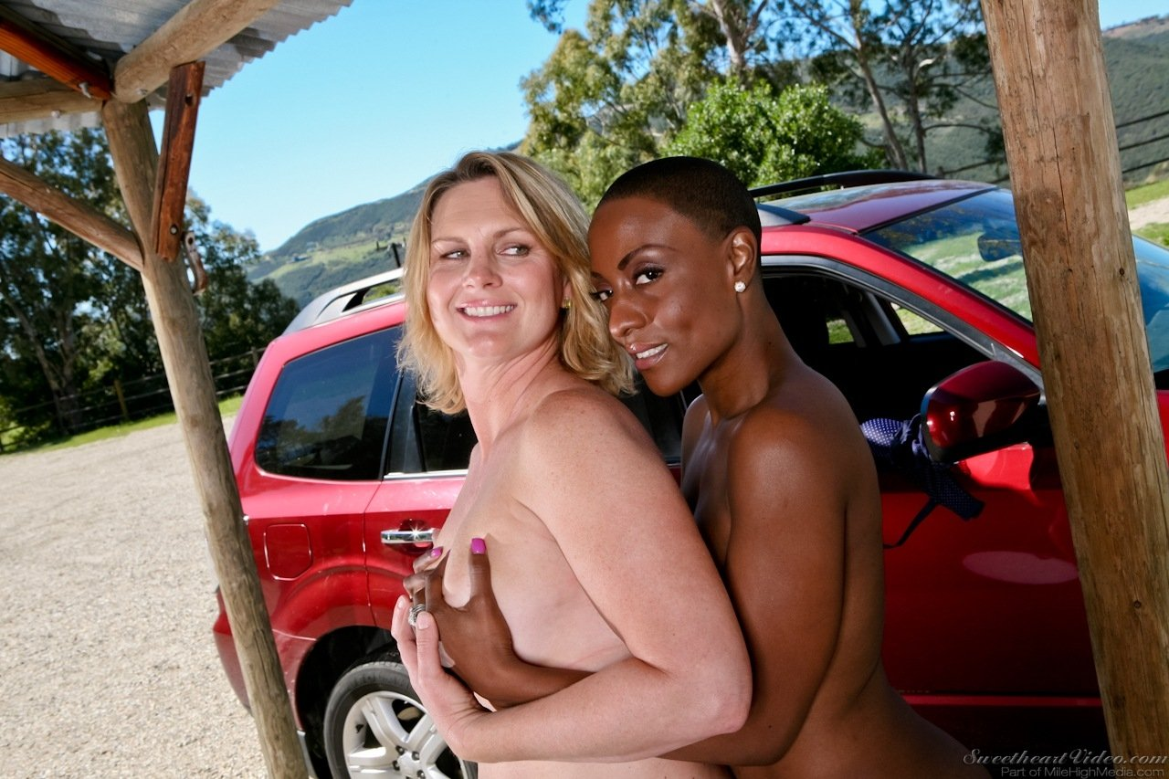 Milf has her FIRST INTERRACIAL Monster Cock 26