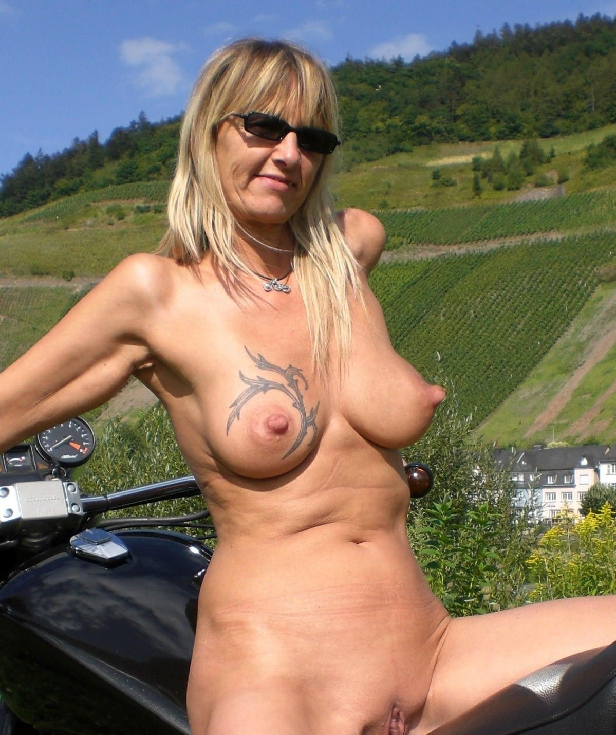 Mature long hard nipples