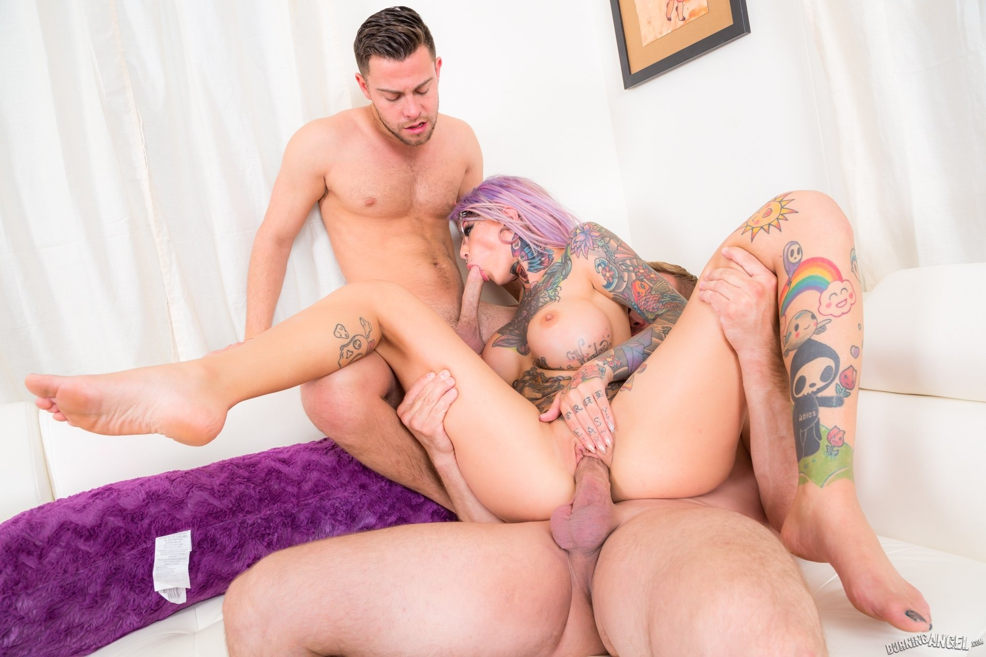 BRIDGETTE: Extreme multiple blowjob
