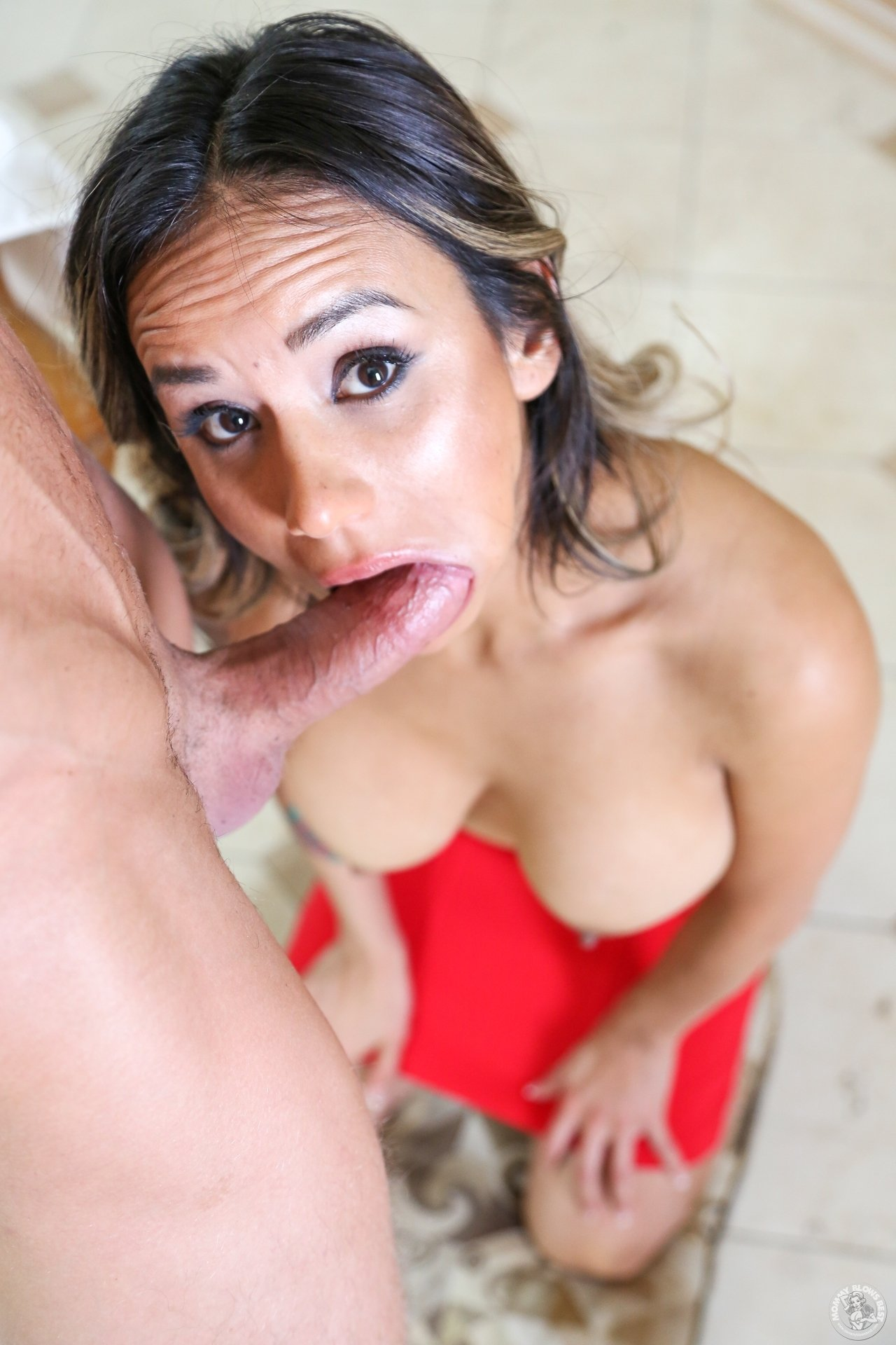Young blonde fucked in a car add photo