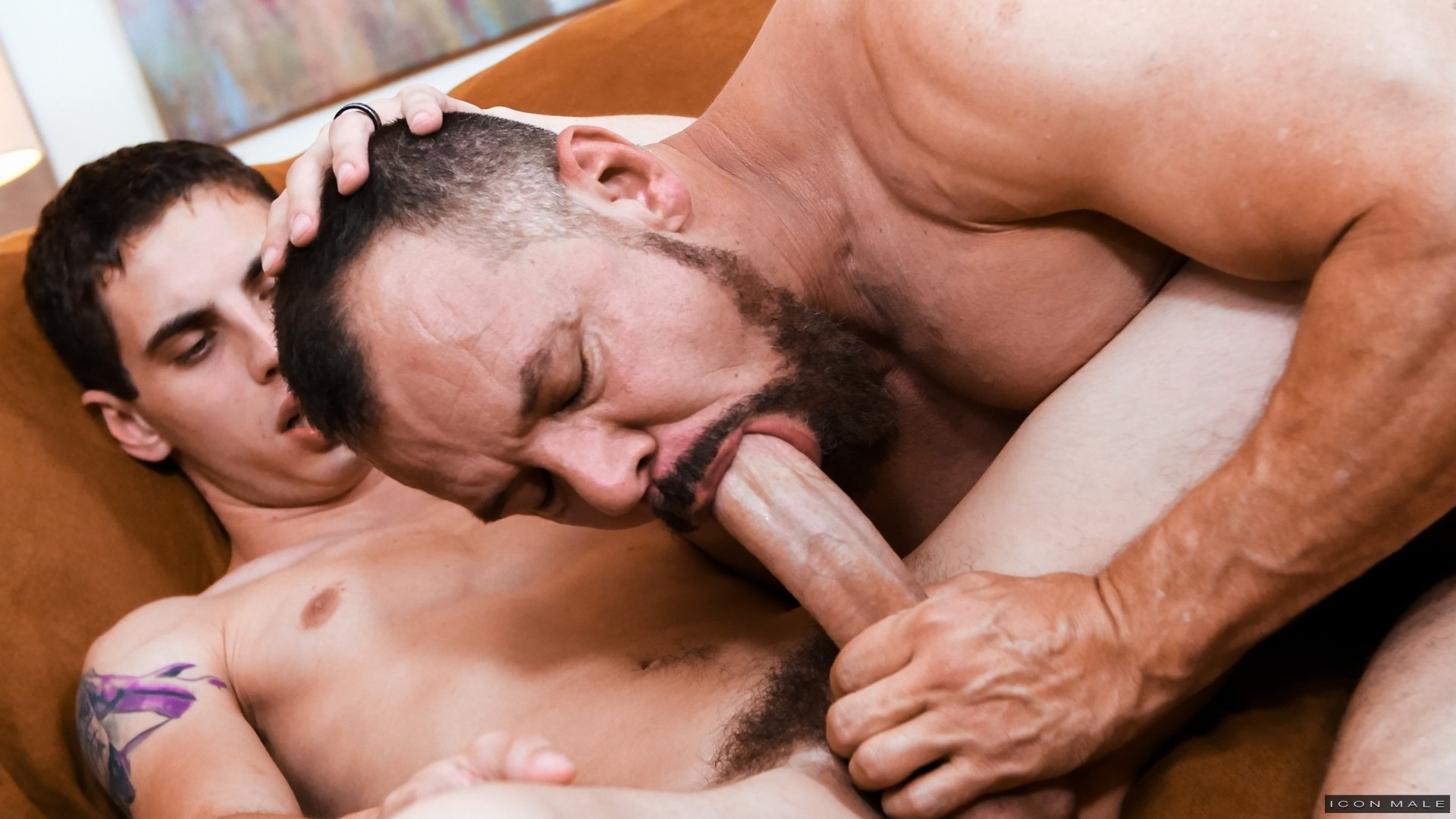 two beefy latino men making out gay