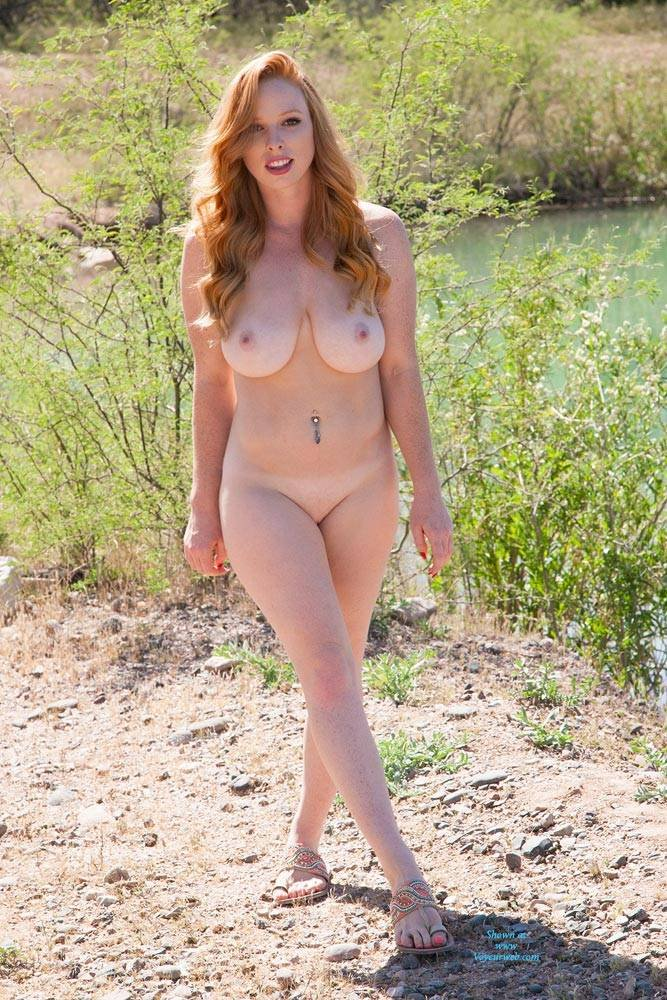 Large breasted redheads
