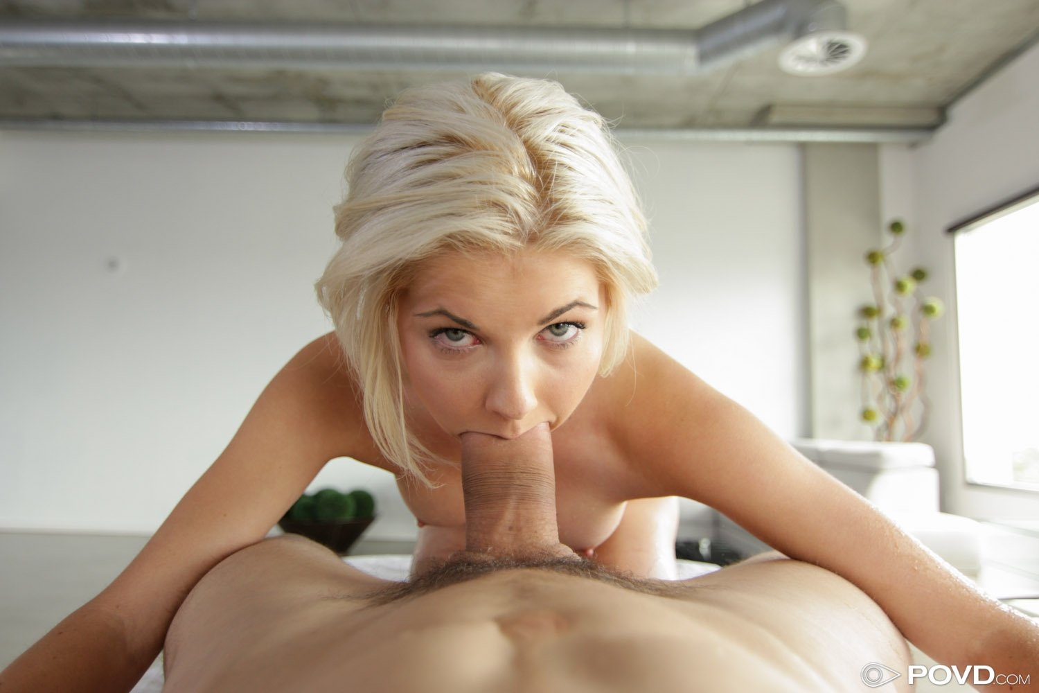 Sloppy Nuru massage with a creampie ending.