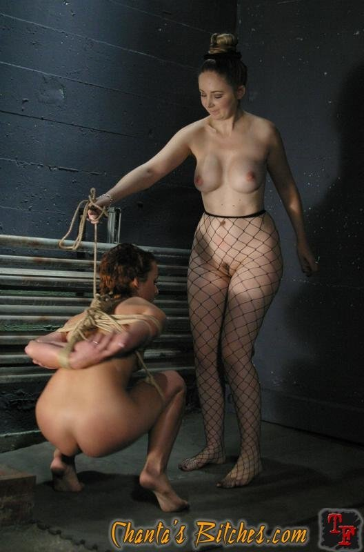 Two lesbians with a dildo #1