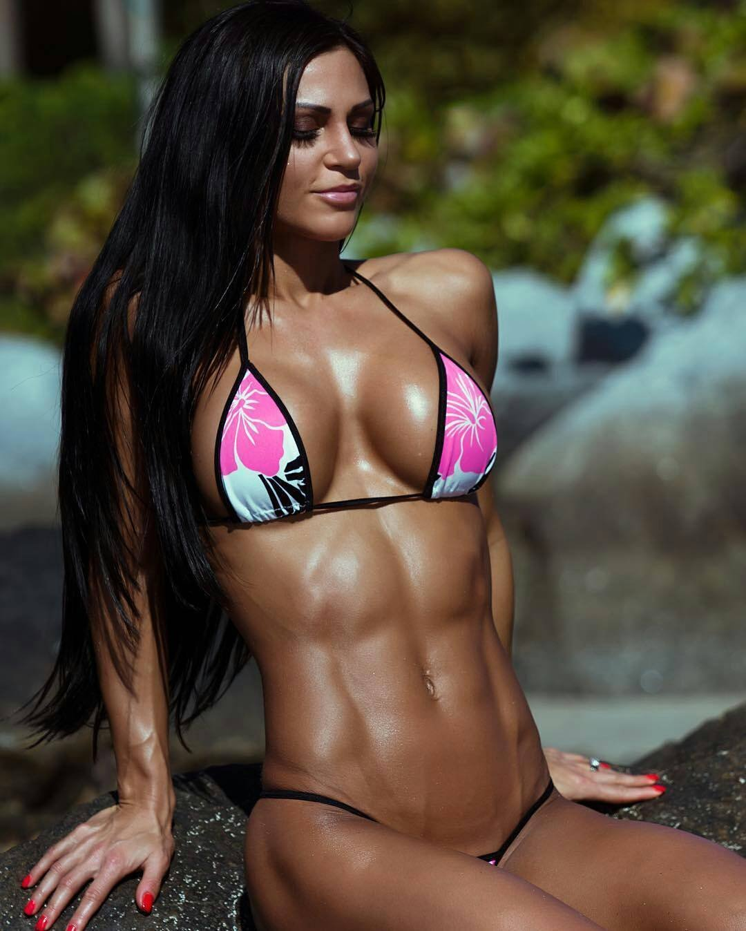 Women fitness models naked