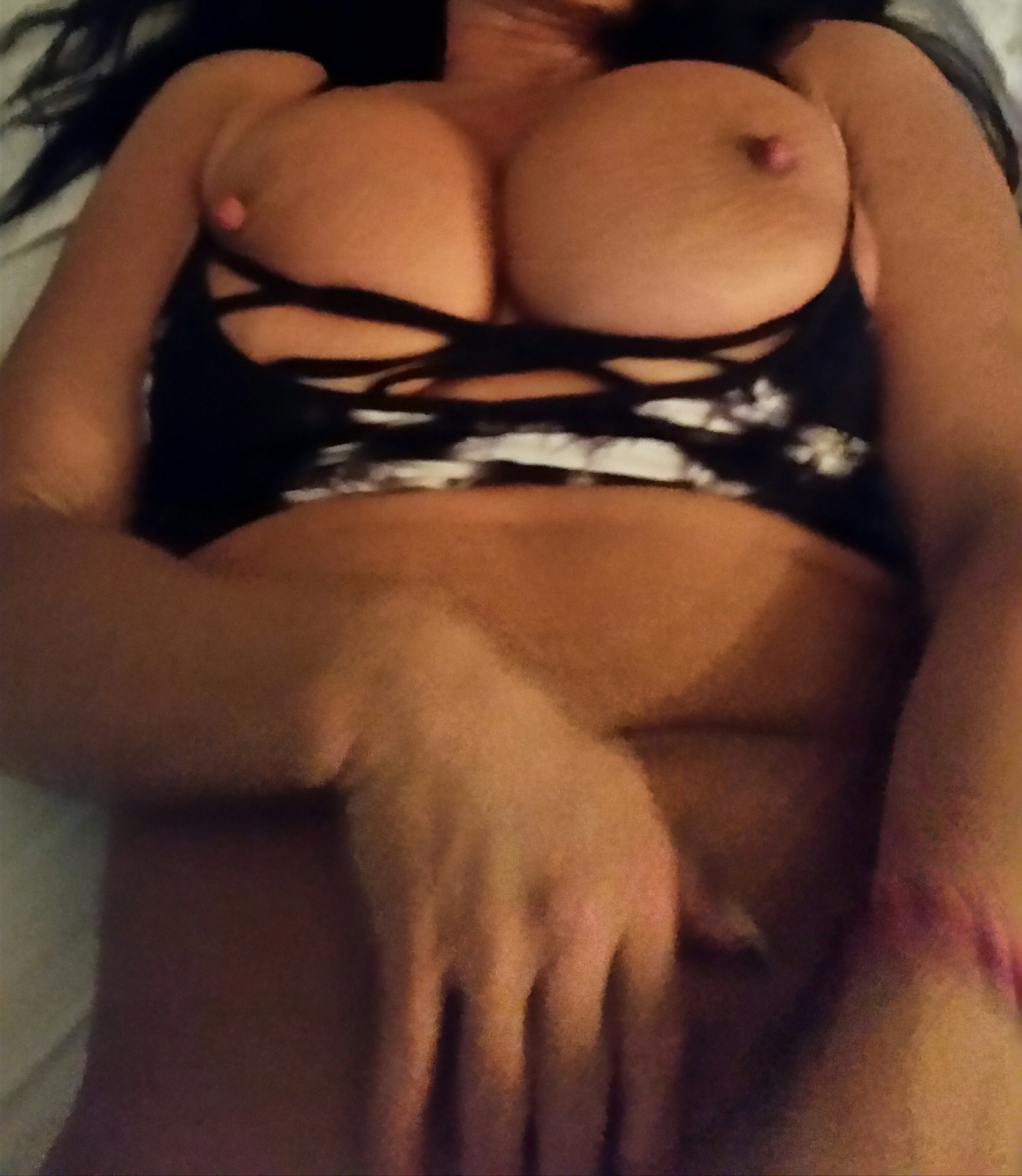 First sexy massage for wife