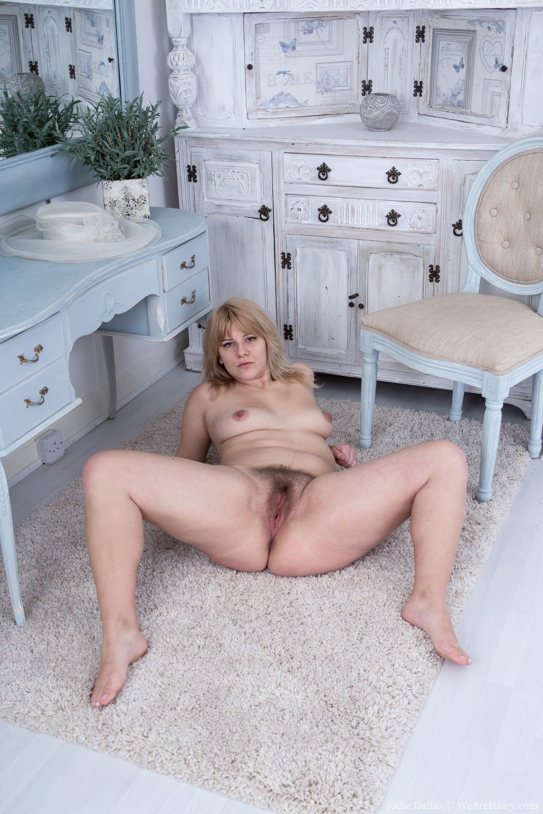 At home wife