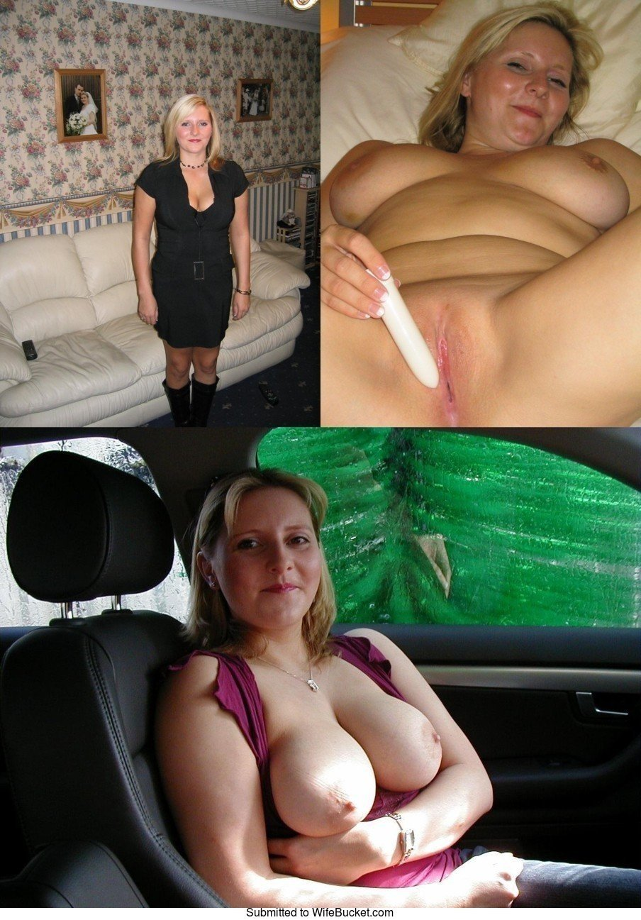 Before-After Nudes From Hot Amateur Wives-4788