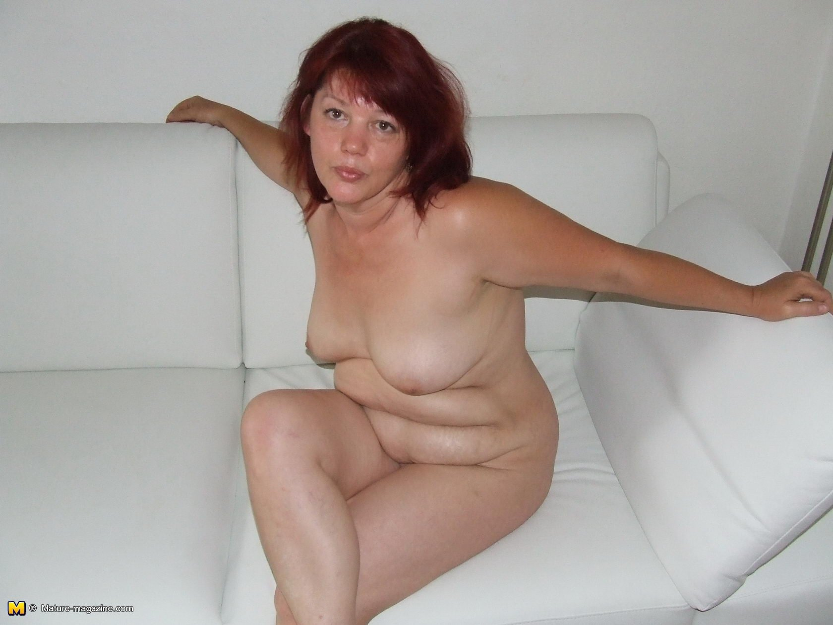Busty white cougar #1