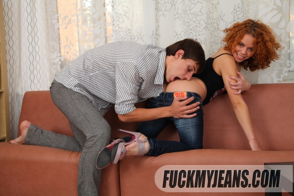 Curly redhead painal free porn