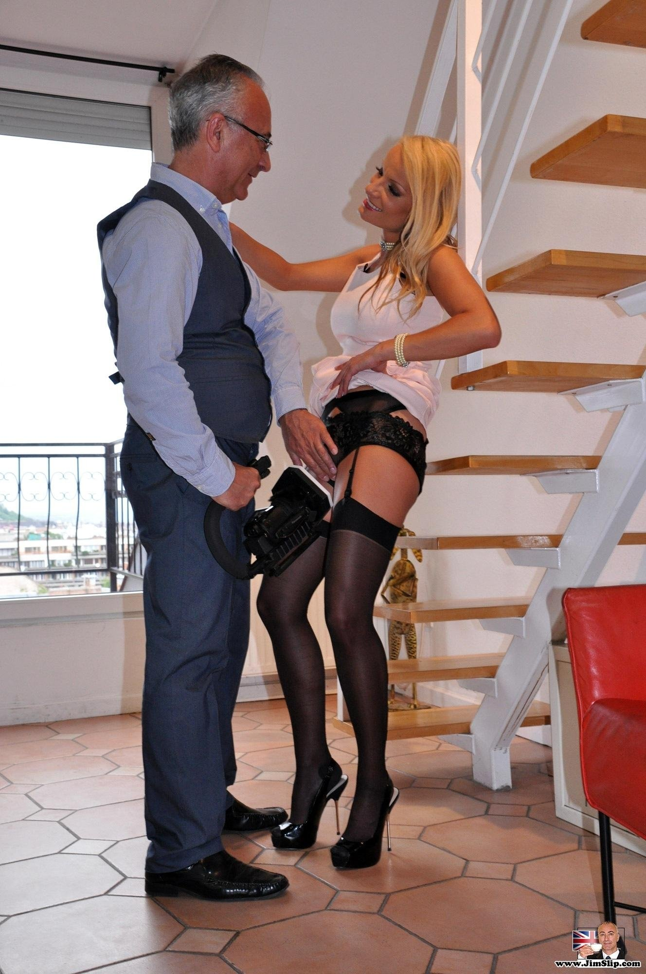 2 brothers fuck wife in stockings