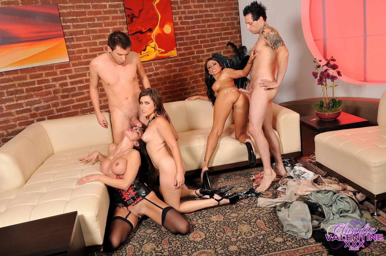 Group sex on tumblr Drunk wife fucks coworkers at party