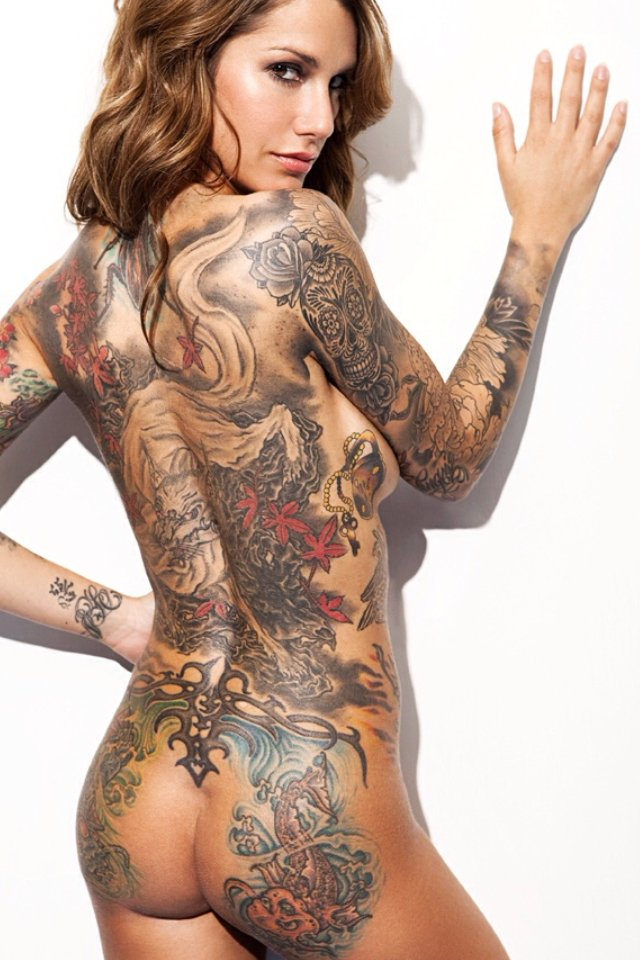 Tattoos models and pornstars galleries